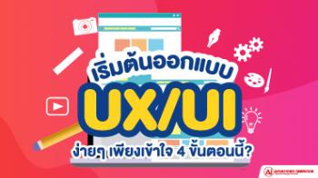 เริ่มต้นออกแบบ-UX-UI-ง่ายๆเพียงเข้าใจ-4-ขั้นตอนนี้